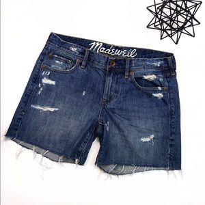 Madewell Denim Shorts Size 26
